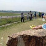 【岡山おでかけ】日応寺自然の森スポーツ広場(空港公園)☆飛行機が目の前に♪