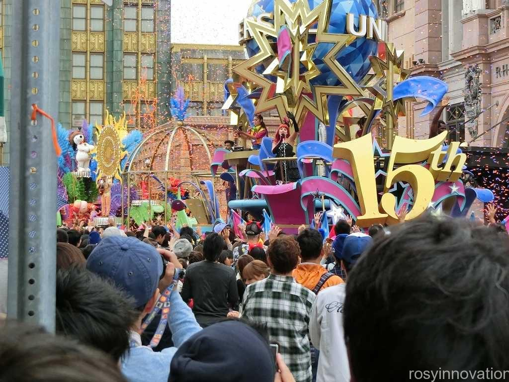 リボーンパレード USJ