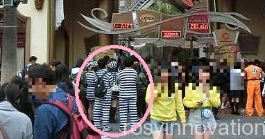 USJ 囚人 仮装