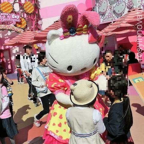 キティちゃん 記念撮影 USJ