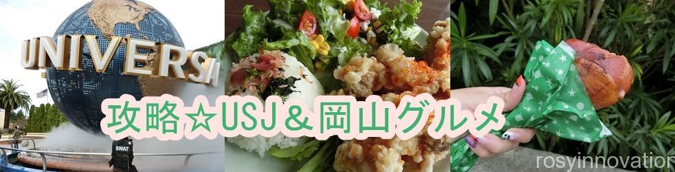 岡山市から2時間で行ける!グルメ☆おでかけ☆USJ攻略情報ブログ