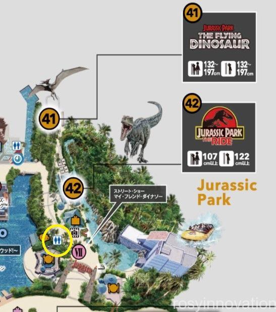 USJトイレマップ2021 (7)ジュラシックパーク