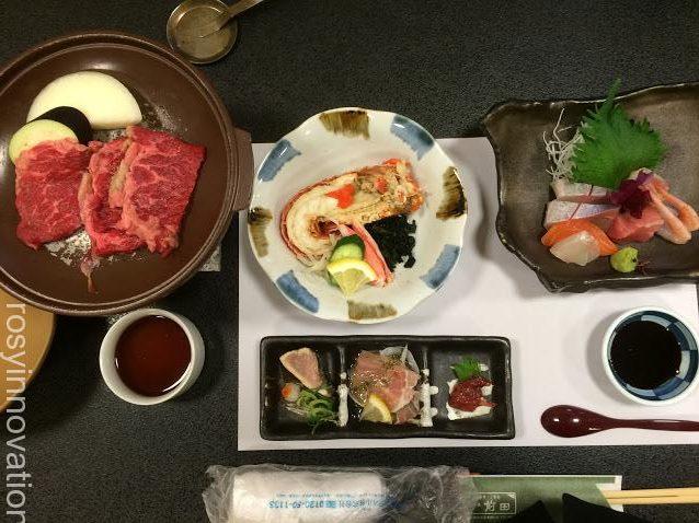 前田5法事の料理