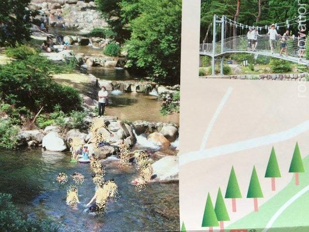 黒木キャンプ場11 川遊び