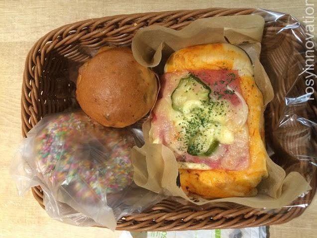 イオン津山パン工場12 買ったパン