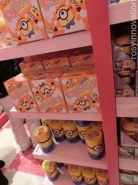 ミニオンパークお土産22 筒お菓子