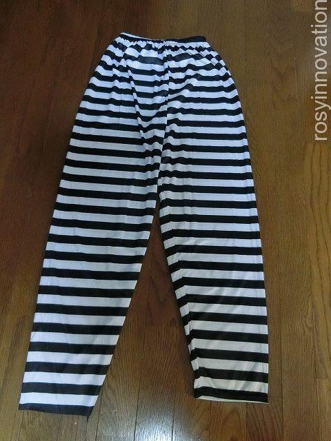 USJ囚人コーデ仮装2 ズボン
