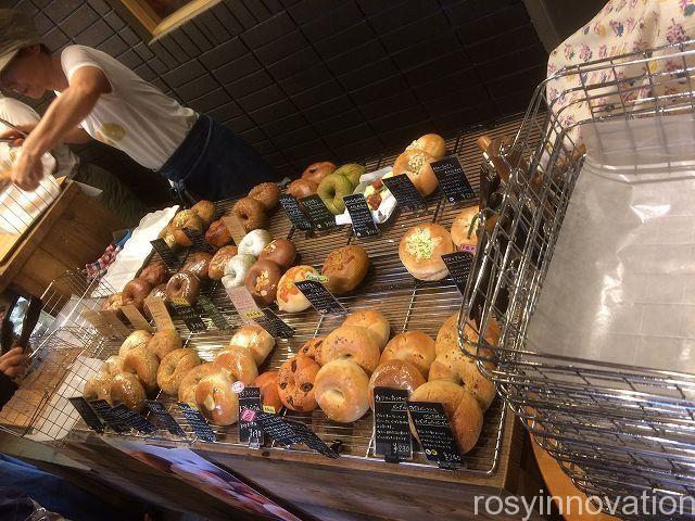 服部ベーグル5 パンの種類