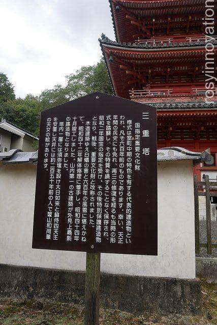 宝福寺11 三重塔 由来