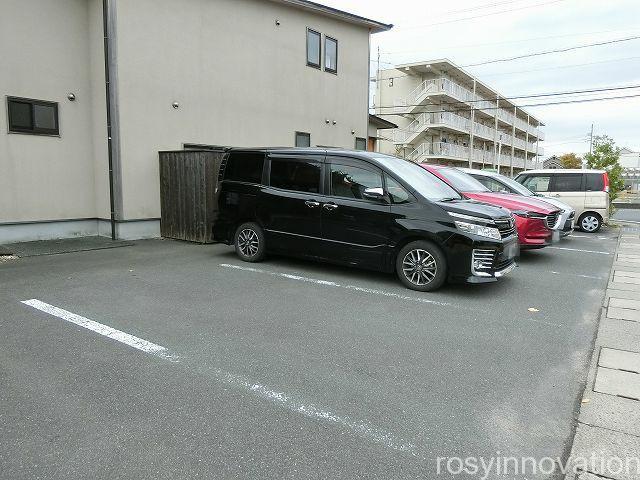 カフェhanaRe4 駐車場