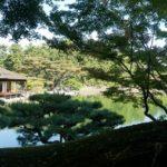 【香川】栗林公園の紅葉2018&吹上亭で団子☆園内の食べ歩きグルメ