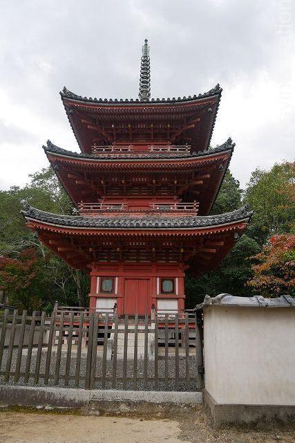 宝福寺9 三重塔