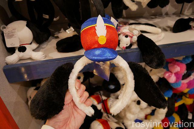 USJスヌーピーのカチューシャ9 赤と青の帽子