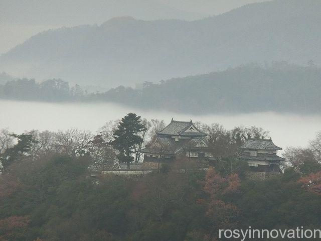 備中松山城雲海12 展望台