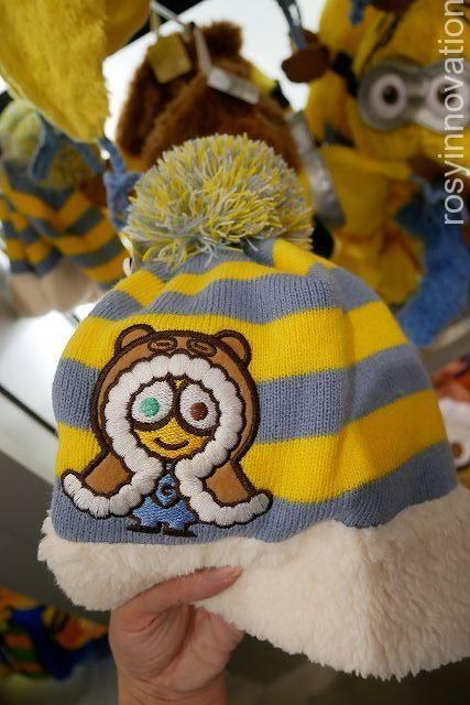 冬防寒USJニット帽20182 キッズ