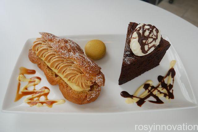 シエルブルー21 ガトーショコラとシュークリーム