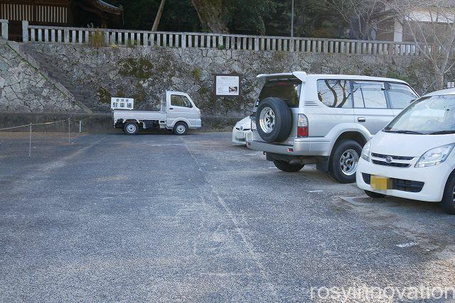 八重籬神社1 駐車場