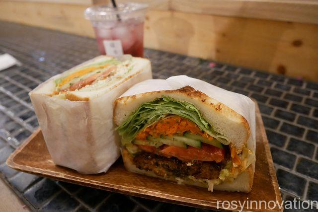 はなうりカフェ22 サンドイッチ