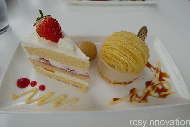 吉備路マラソン シエルブルー19 ショートケーキとモンブラン