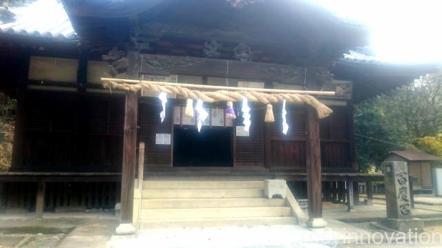 田潮八幡神社7 拝殿