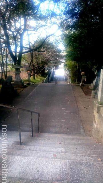 田潮八幡神社6 階段