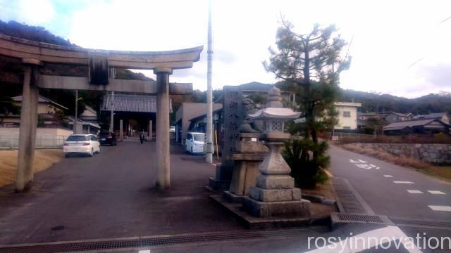 田潮八幡神社3 駐車場