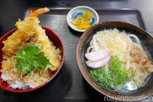 香川製麺てまり7 海老天丼セット