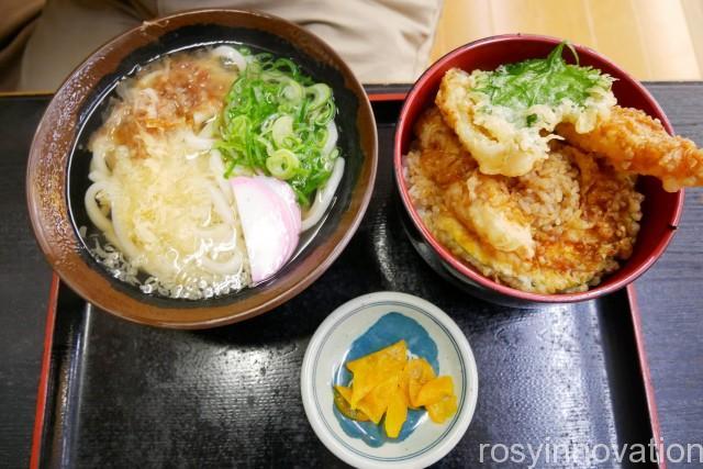 香川製麺てまり11 天丼セット