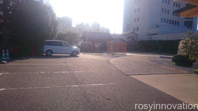 岡山神社5 駐車位置