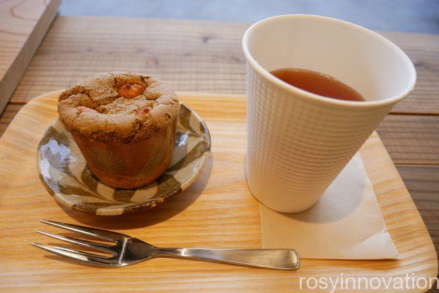 ホトトギスファームカフェ11 ほうじ茶マフィン