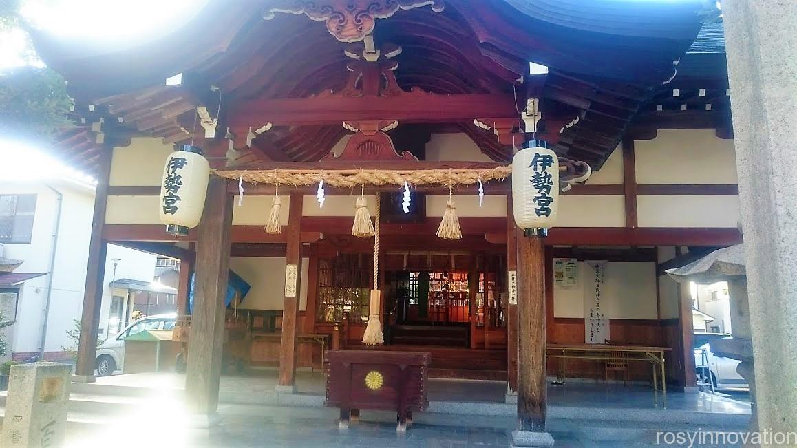 伊勢神社7 拝殿