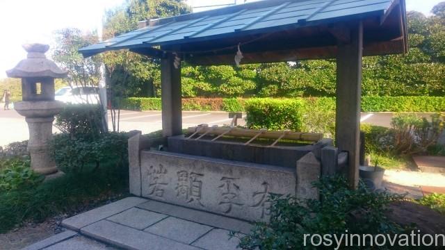 岡山神社7 手水舎