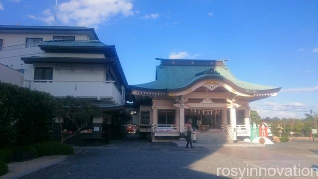 岡山神社8 岡山神社 拝殿