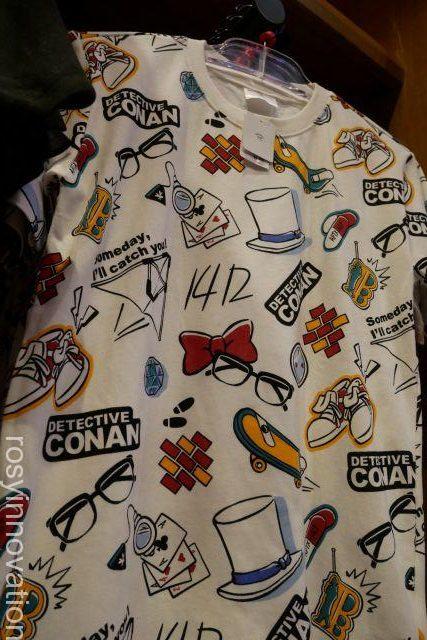 コナングッズ20197 白プリントTシャツ