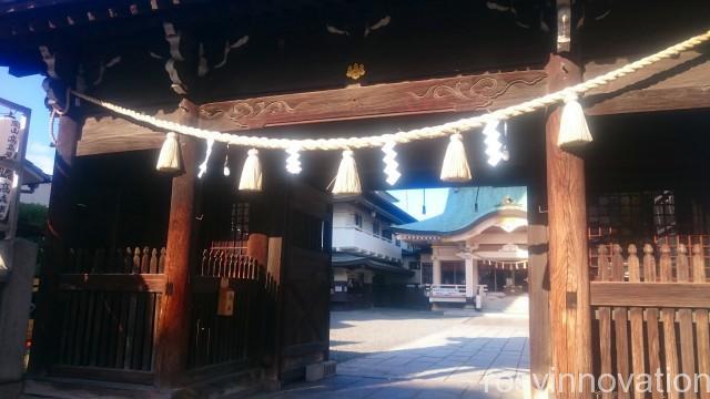岡山神社7 入口