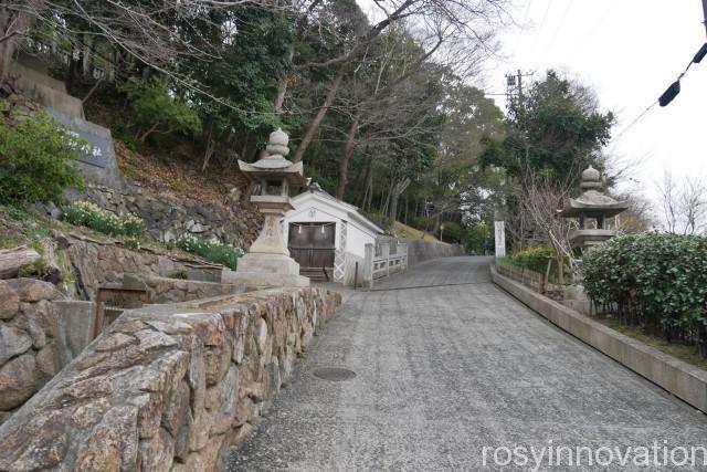 阿智神社2 車