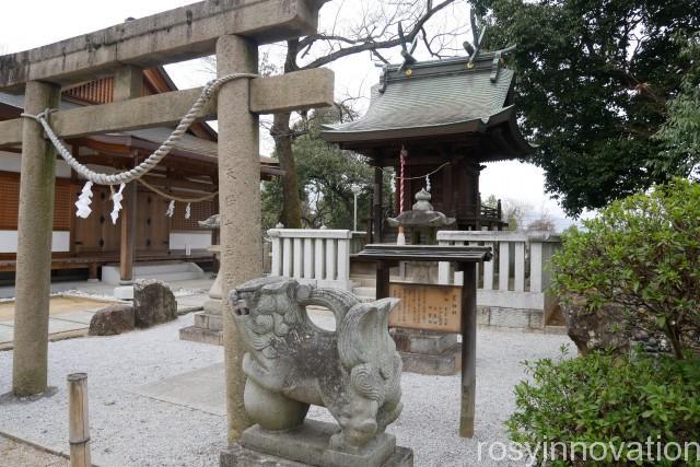 阿智神社15 参拝