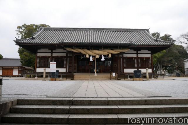 阿智神社7 拝殿
