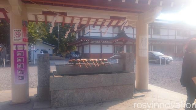 広島護国神社4 手水舎