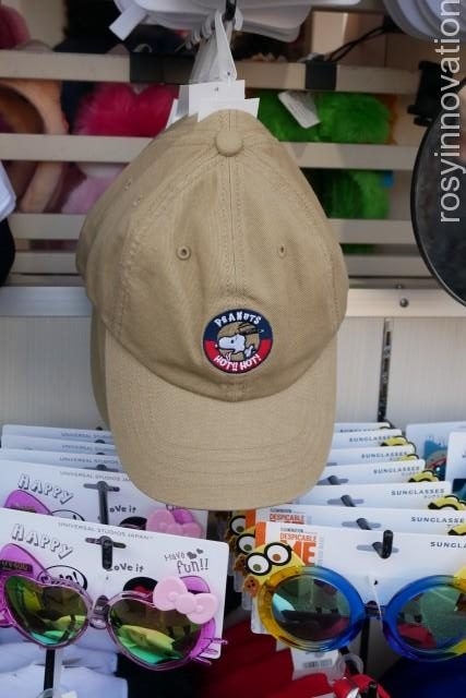 USJ帽子20199 スヌーピーベージュの帽子