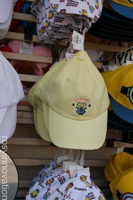 1ユニバ帽子201912 ベージュのミニオン