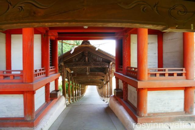 吉備津神社16 紅の門