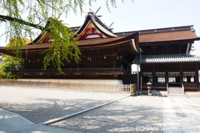 吉備津神社18 本堂全体