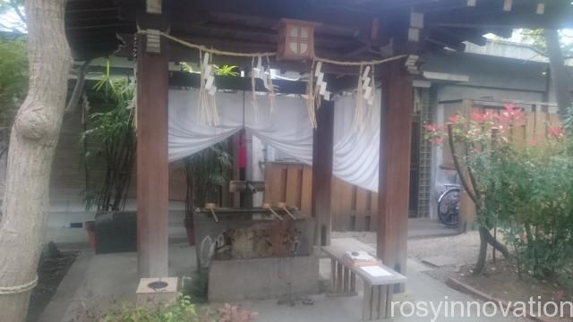 堀越神社7 手水舎