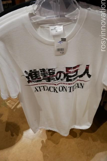 ★進撃の巨人グッズ追加6 ロゴTシャツ