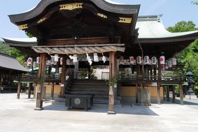 石清尾八幡宮5 拝殿