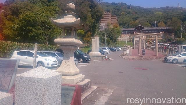 金光稲荷神社(広島)1 駐車場