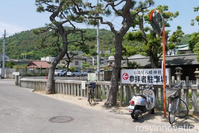 石清尾八幡宮2 駐車場