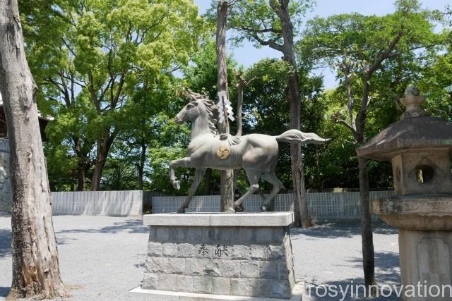 石清尾八幡宮9 馬