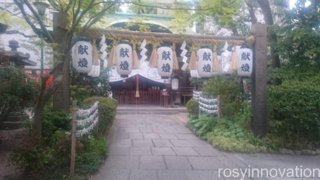 堀越神社6 ぼんぼり